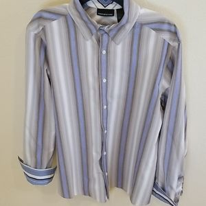 DKNY Jeans Striped Dress Shirt